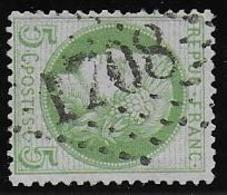 Cérès N° 53 Obl. G.C. 1708 De Graulhet ( Tarn ) - 1871-1875 Ceres
