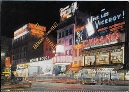 PARIS - LE MOULIN ROUGE LA NUIT - NUOVA - Cabaret