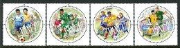 Vanuatu 2002 Football Federation Set MNH (SG 877-880) - Vanuatu (1980-...)