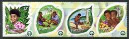 Vanuatu 2002 Year Of Reforestation Set MNH (SG 881-884) - Vanuatu (1980-...)