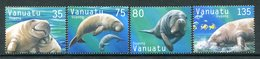 Vanuatu 2002 Dugong Set MNH (SG 886-889) - Vanuatu (1980-...)
