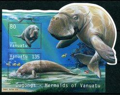 Vanuatu 2002 Dugong MS MNH (SG MS890) - Vanuatu (1980-...)