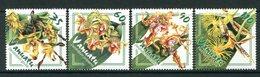Vanuatu 2002 Orchids Set MNH (SG 891-894) - Vanuatu (1980-...)