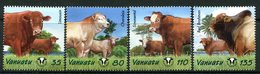 Vanuatu 2003 Beef Production Set MNH (SG 895-898) - Vanuatu (1980-...)