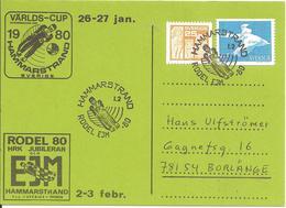 1980 Championnat D'Europe De LUGE Juniors:Hammarstrand (Suède) - Hiver