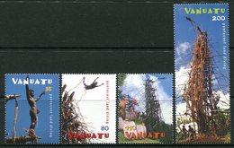 Vanuatu 2003 Pentecost Island Land Diving Set MNH (SG 899-902) - Vanuatu (1980-...)