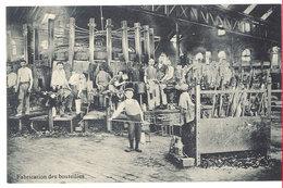 Cpa Belgique - Verreries De Jumet, Verres - Fabrication De Bouteilles - Charleroi