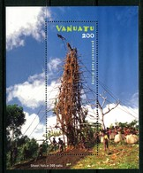 Vanuatu 2003 Pentecost Island Land Diving MS MNH (SG MS903) - Vanuatu (1980-...)