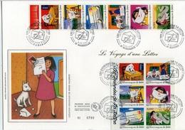 Bo299 Grande Enveloppe Le Voyage D'une Lettre. 08/05/1997 - FDC
