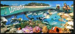 Vanuatu 2003 Snorkelling MS MNH (SG MS909) - Vanuatu (1980-...)