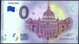 Zero - BILLET EURO O Souvenir - VATICANO 2018-2set UNC {Italy} - Prove Private