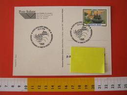 A.09 ITALIA ANNULLO - 1998 AVIGLIANO UMBRO TRANI PALEO FOSSILI MINERALI FORESTA DUNAROBBA ALBERI PIETRA - Fossili