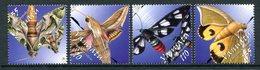 Vanuatu 2003 Moths Set MNH (SG 919-922) - Vanuatu (1980-...)