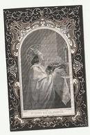 Doodsprentje Maria Juliana HUYGHE Geestelyke Dochter Oostende 1792 Brugge 1859 Voorkant St. Louis Roi De France Dopter - Images Religieuses