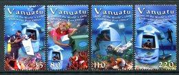Vanuatu 2004 Underwater Post Office - 2nd Issue Set MNH (SG 923-926) - Vanuatu (1980-...)