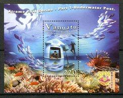 Vanuatu 2004 Underwater Post Office - 2nd Issue MS MNH (SG MS927) - Vanuatu (1980-...)