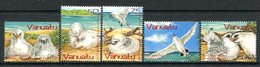 Vanuatu 2004 Red-tailed Tropic Bird Set MNH (SG 932-936) - Vanuatu (1980-...)