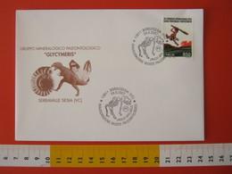 A.09 ITALIA ANNULLO - 2007 BORGOSESIA VERCELLI PALEO FOSSILI ORSO BEAR URSUS SPELAEUS SCHELETRO OSSA - Fossili