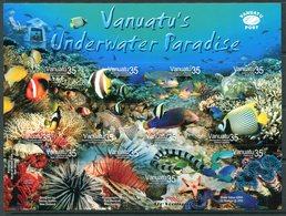 Vanuatu 2004 Tropical Marine Life MS MNH (SG MS943) - Vanuatu (1980-...)
