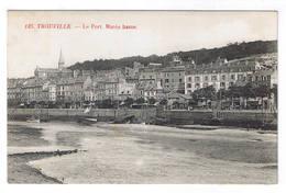 TROUVILLE  LE PORT MAREE BASSE - Trouville