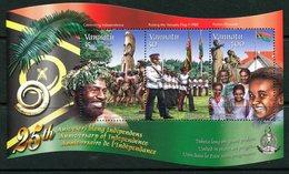 Vanuatu 2005 25th Anniversary Of Independence MS MNH (SG MS955) - Vanuatu (1980-...)