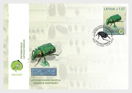 H01 Latvia 2019 Unique Exhibits Of The Latvian Museum Of Natural History  FDC - Lettland