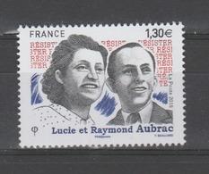 FRANCE / 2018 / Y&T N° 5219 ** : Lucie & Raymond Aubrac - Gomme D'origine Intacte - France