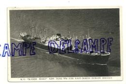 "M.V. ""Kashii Maru"" 9,200 Tons D/W Far East-North Europe Service. Kokusai Kisen Kaisha - Dampfer"