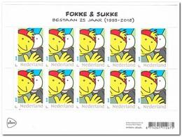 Nederland 2018, Postfris MNH, NVPH V3642, Fokke & Sukke - Period 2013-... (Willem-Alexander)