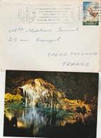Espagne  Lettre  Cachet  PALMA DE Mallorca 26/10/1972 AVEC Carte Postale Porto Cristo  Pour Toulouse France - 1931-Aujourd'hui: II. République - ....Juan Carlos I