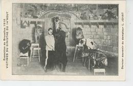 SPECTACLE - CIRQUE - EXPOSITION DE BRUXELLES 1910 - Victimes Du Sinistre - Dernier Souvenir Du Dompteur L. JOYAT - Cirque