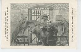 SPECTACLE - CIRQUE - EXPOSITION DE BRUXELLES 1910 - Victimes Du Sinistre - Dernier Souvenir Du Dompteur TALLON - Cirque