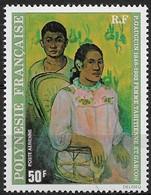1978  Polynésie Française N° Pa 135  Nf** MNH  Femme Tahitienne Et Garçon. Gauguin. - Poste Aérienne