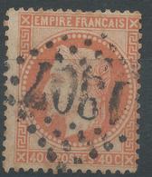Lot N°46125  N°31, Oblit GC 1907 Vaux-Andigny, Aisne (2), Ind 21 Ou Kaisersberg, Haut-Rhin (66), Ind 4 - 1863-1870 Napoleon III With Laurels