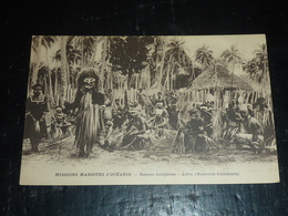 MISSIONS MARISTES D'OCEANIE - DANSES INDIGENES, LIFOU (Nouvelle-Calédonie) - OCEANIE (AD) - Nouvelle-Calédonie