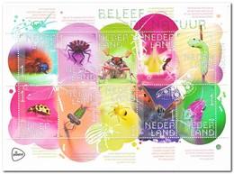 Nederland 2018, Postfris MNH, NVPH V3658-1667, Insects - Period 2013-... (Willem-Alexander)