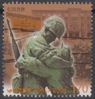 South Korea KPCC1663 Millennium, History Since Independence, Korean War, Soldier, Millénaire, Soldat - Militaria