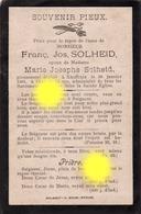 XHOFFRAIX Mr SOLHEID  époux SOLHEID 1901 - Décès