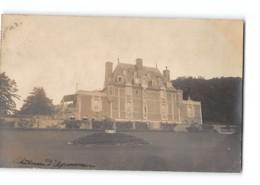 CPA14 Carte Photo Trouville Chateau D'Aguesseau - Trouville