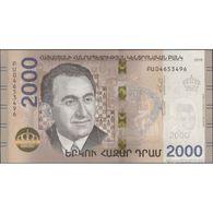 TWN - ARMENIA NEW - 2000 2.000 Dram 2018 (2019) Hybrid UNC - Arménie