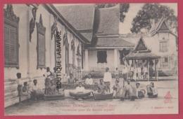 ASIE---CAMBODGE--PHNOM-PENH---Orchestre Pour Les Danses Royales---animé - Cambodia