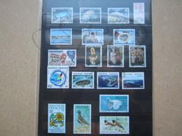VEND BEAUX TIMBRES DE POLYNESIE , ANNEE 1982 + P.A. + BLOC , XX !!! - Polynésie Française