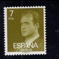 718602718 SPAIN 1976 1977 SCOTT 1980 KING JUAN CARLOS - 1931-Aujourd'hui: II. République - ....Juan Carlos I