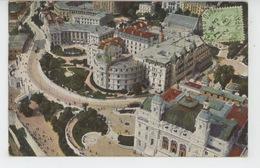 MONACO - MONTE CARLO - Vue Prise En Aéroplane : Le Casino, L'Hôtel De Paris Etc... - Monte-Carlo