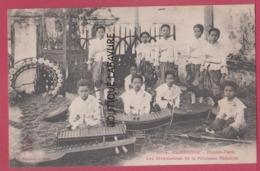 ASIE---CAMBODGE--PHNOM-PENH---Les Musiciennes De La Princesse Kanakari--animé - Cambodia