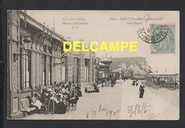 DD / 76 SEINE MARITIME / SAINT VALÉRY EN CAUX / LE CASINO / ANIMÉE / 1905 - Saint Valery En Caux