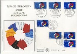Bo302 Grande Enveloppe Espace Européen  16/10/1997 - FDC