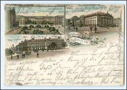 XX003365/ Gruß Aus Berlin 1900 Litho AK - Germany