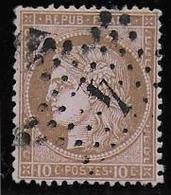 Cérès N° 54  Obl. Etoile 4 - 1871-1875 Cérès