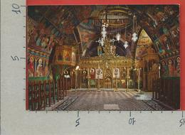 CARTOLINA VG GRECIA - RODI LINDOS - Chiesa Bizantina Della Vergine - 10 X 15 - ANN. 1971 - Grecia